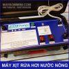Bang Dieu Khien May Phun Xit Rua Hoi Nuoc Nong