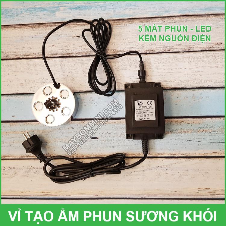 Bo Phun Suong Tao Khoi Be Ca Hon Non Bo