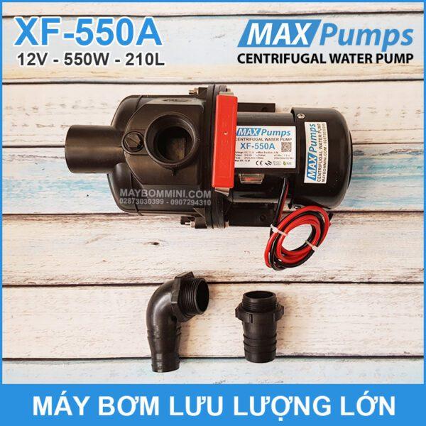 Bom Nuoc Luu Luong Lon 12V 550W