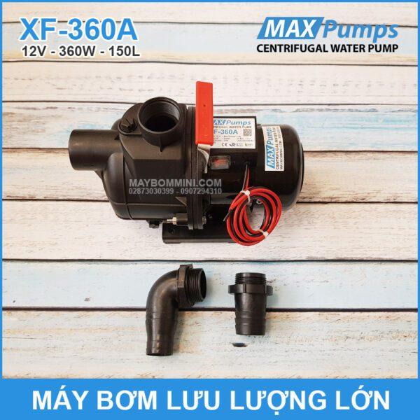 Bom Nuoc Mini 12v Luu Luong Lon XF 360A