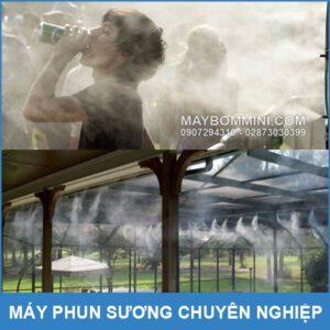 Phun Suong Giam Nhiet Do Moi Truong
