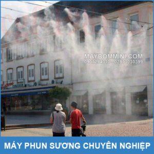 Phun Suong Lam Mat Noi Cong Cong