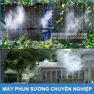 Phun Suong Lam Mat Va Tuoi Cay