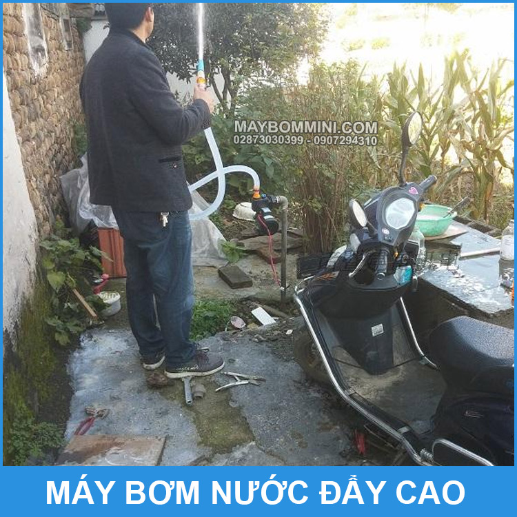 Su Dung Bom Nuoc Day Cao XF 360B