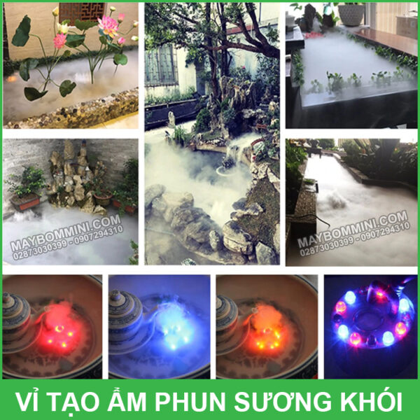 Tao Phun Khoi Phun Suong Hon Non Bo Va Ho Ca