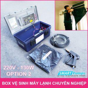 Box Ve Sinh May Lanh 220V 130W Option 2 LAZADA
