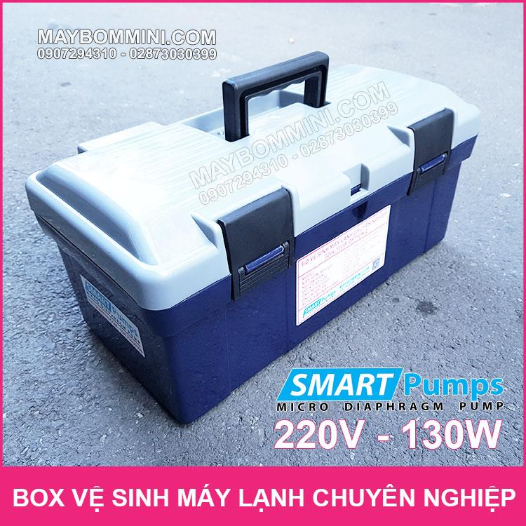 Box Ve Sinh May Lanh Chuyen Nghiep 12V 130W Chinh Hang