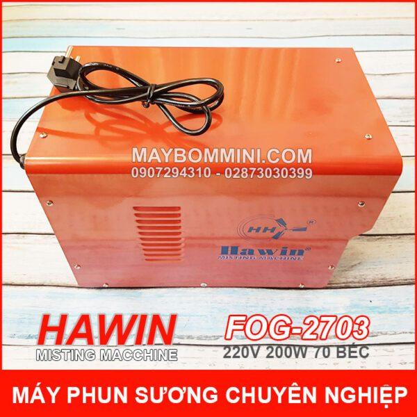 Chuyen May Phun Suong Hawin Chinh Hang