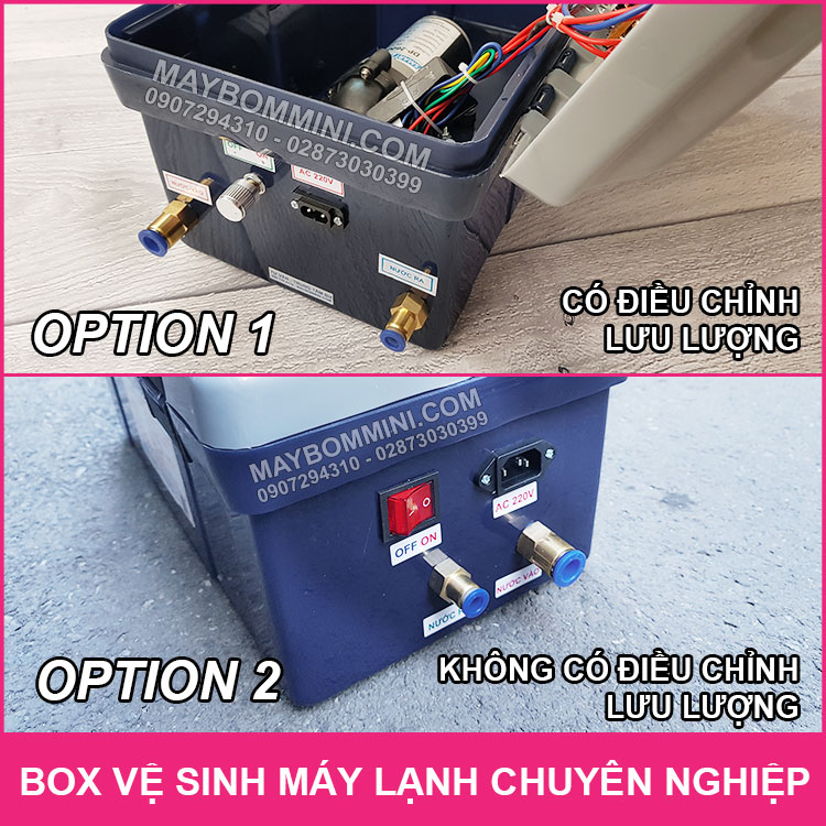 Khac Nhau Giua Box Ve Sinh May Lanh Op1 Va Op2