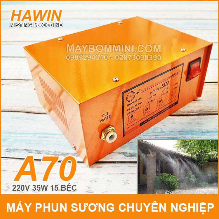 May Phun Suong Chuyen Nghiep Hawin A70 15 Bec