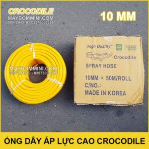 Ong Day Ap Luc Cao Crocodile 10mm Chinh Hang Korea
