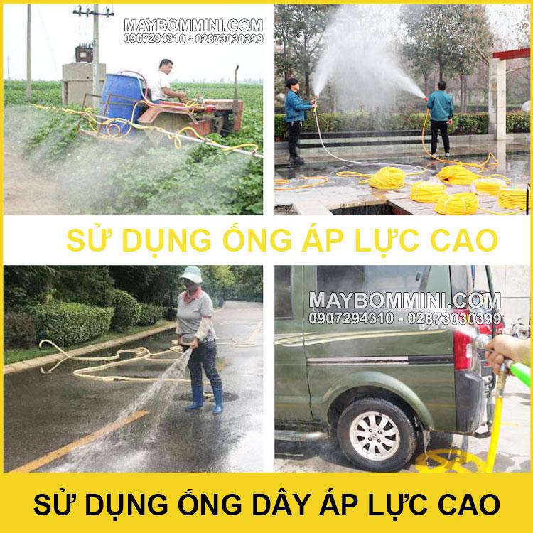 Su Dung Ap Luc Cao De Xit Rua Phun Tuoi Cay