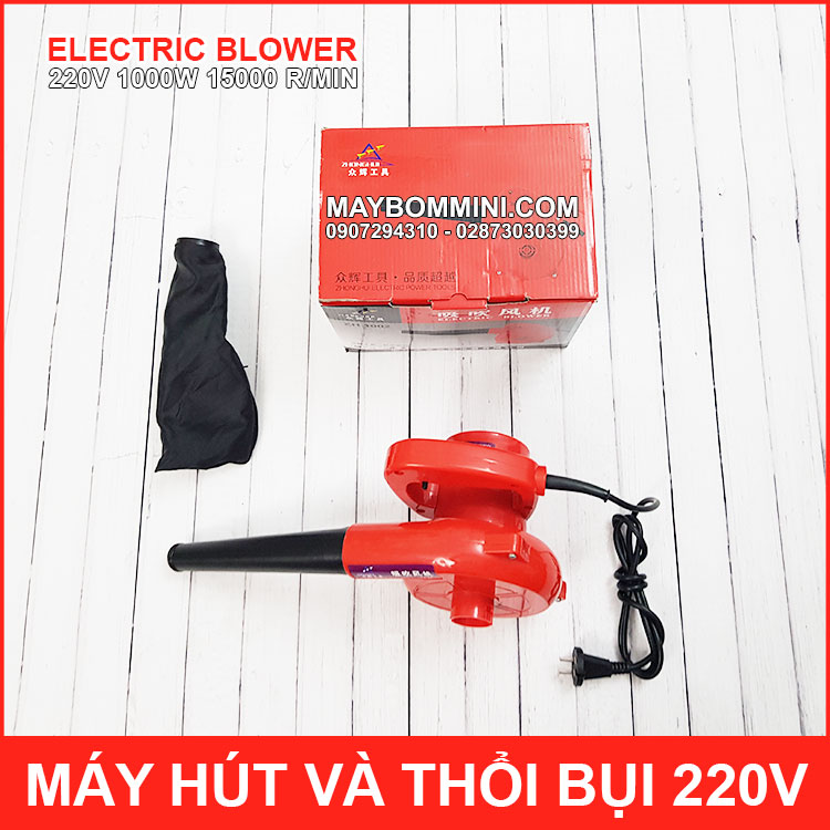 BAN MAY THOI VA HUT BUI 220V