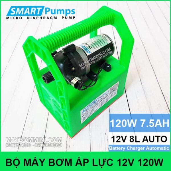 Bo May Bom Binh Ac Quy 12V 120W