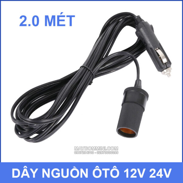 Day Nguon Oto Xe May 12v 24v