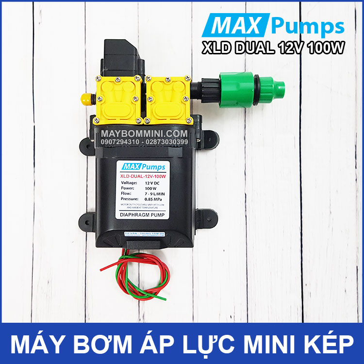 May Bom Mini Kep 12V 100W