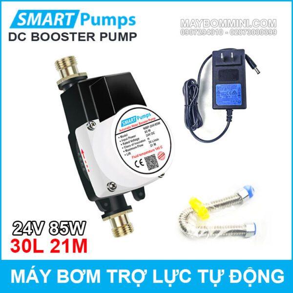 May Bom Tro Luc Nuoc Tu Dong 24v 85w 30l Smartpumps Chinh Hang Tiki