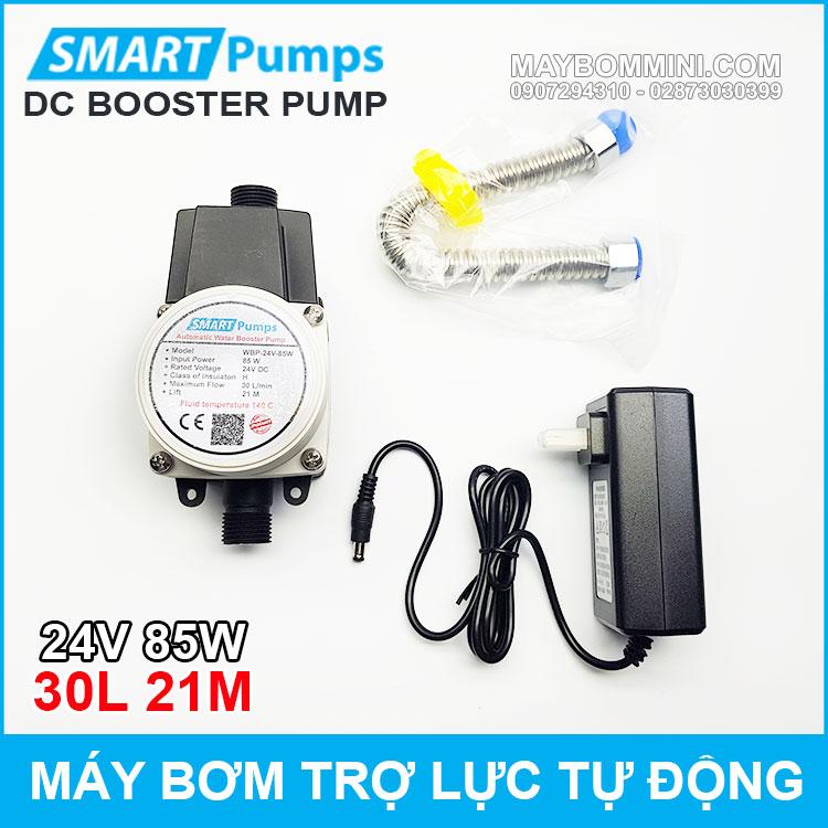May Bom Tro Luc Nuoc Tu Dong 24v 85w 30l Smartpumps