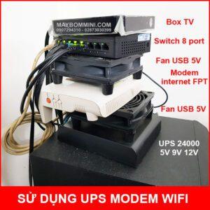 Su Dung UPS Wifi Modem