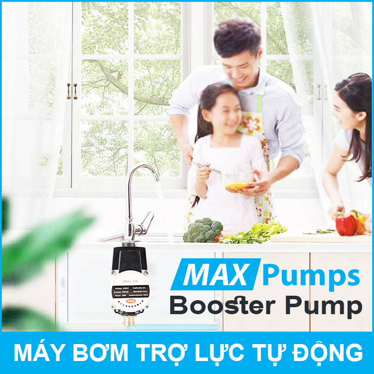 Su Dung Bom Tro Luc Nuoc Gia Dinh
