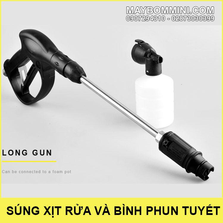 Sung Xit Ap Luc Cao Va Binh Phun Bot Tuyet