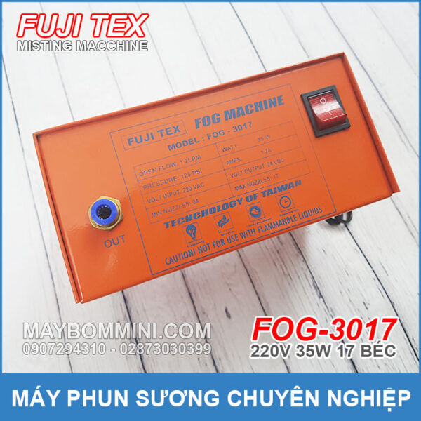 MISTING MACHINE TAIWAN FOG 3017