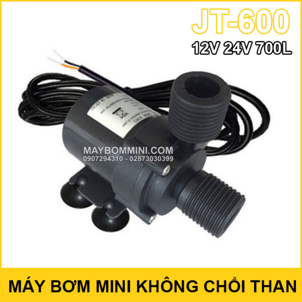 May Bom Mini Khong Choi Than 12v 24v 700L JT 600