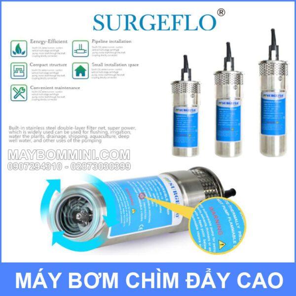 May Bom Nang Luong Mat Troi 12v SURGEFLO