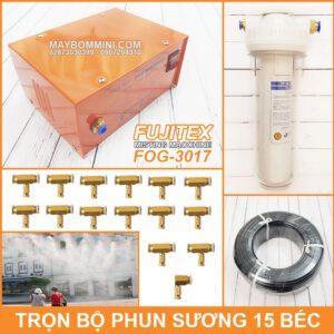 Tron Bo Phun Suong Lam Mat Tuoi Lan 15 Bec Fujitex Fog 3017