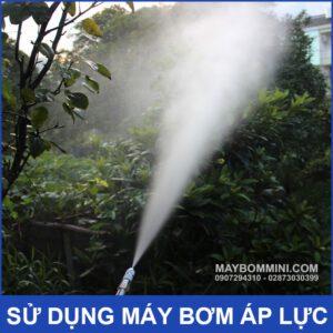 May Bom Ap Luc Phun Xit Tuoi Cay