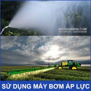 May Bom Phun Xit Thuoc Tru Sau 12v