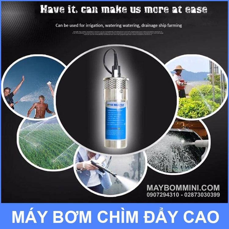 Su Dung May Bom Chim SURGEFLO 12v