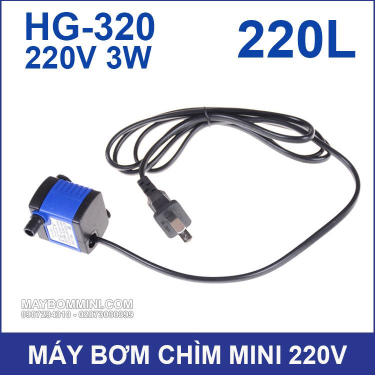 Bom Nuoc Mini HG 320