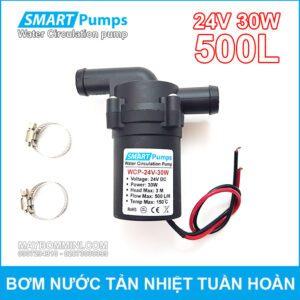 May Bom Nuoc Tan Hiet Tuan Hoan 24V 30W 500L Smartpumps