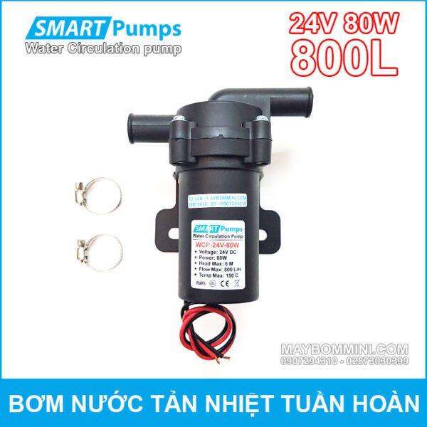May Bom Nuoc Tan Hiet Tuan Hoan 24V 80W 800L Smartpumps