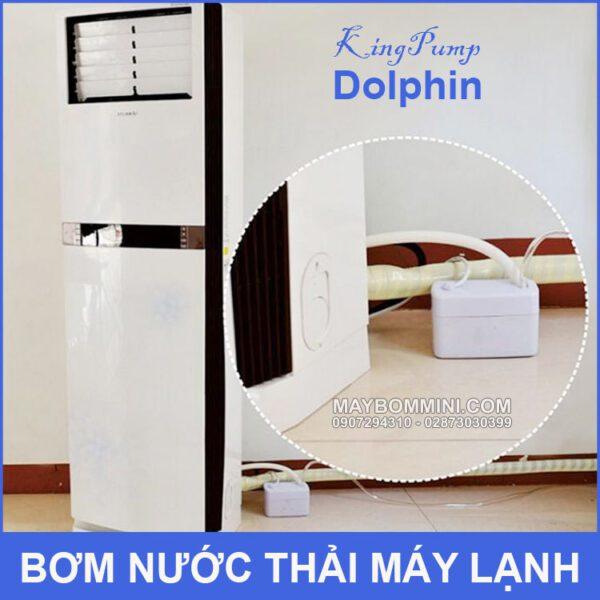 Su Dung Bom Nuoc Thai May Lanh Dolphin
