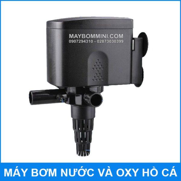 May Bom Nuoc Va Oxy Ho Ca