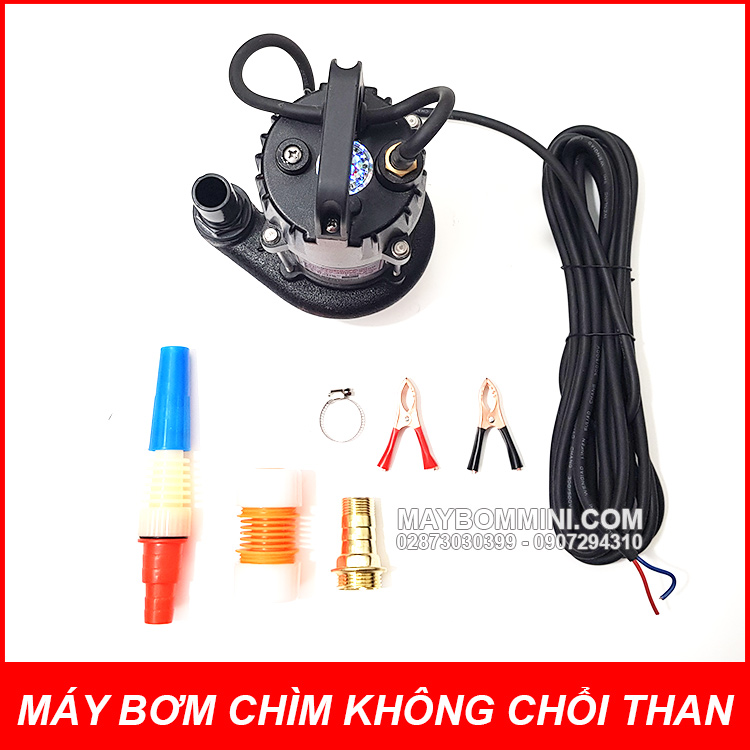 Bom Nuoc Mini Tha Chim Khong Choi Than 24v