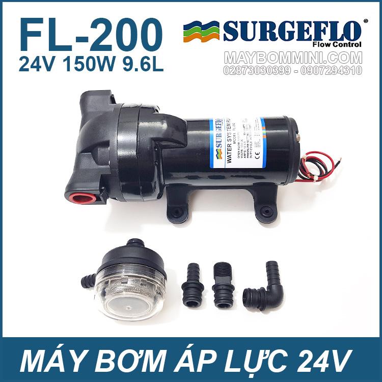 May Bom Ap Luc SURGEFLO 24V 150W FL200