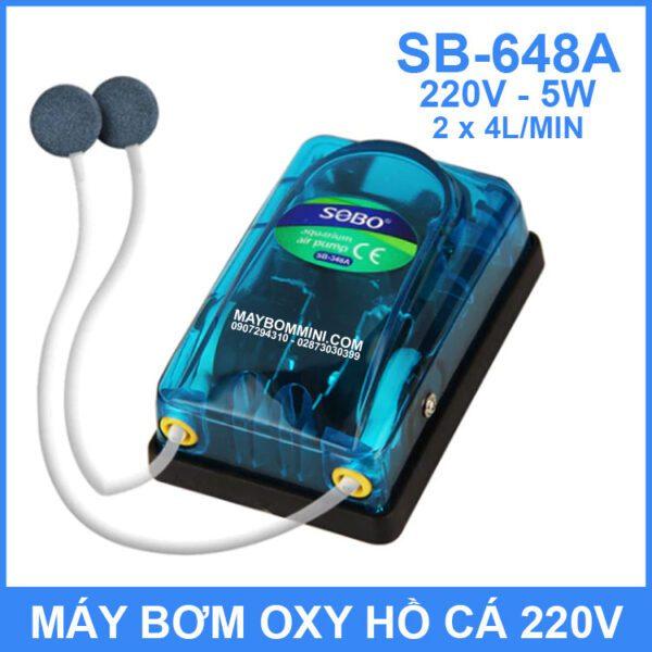 May Bom Oxy 220V 5W 8L SB 648A