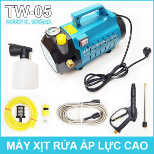 May Rua Xe Ap Luc Cao 220V 2200W Sumo TW 05 Co Chinh Ap