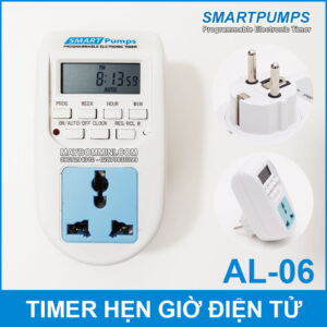 Timer Hen Gio Tat Mo Thiet Bi Dien Tu Smartpumps AL 06