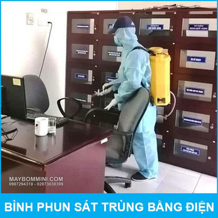 Binh Phun Sat Trung Bang Dien QM315 18L