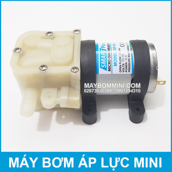 May Bom Ap Luc Mini 12V 10W 2L Smartpumps DP 545 Gia Re