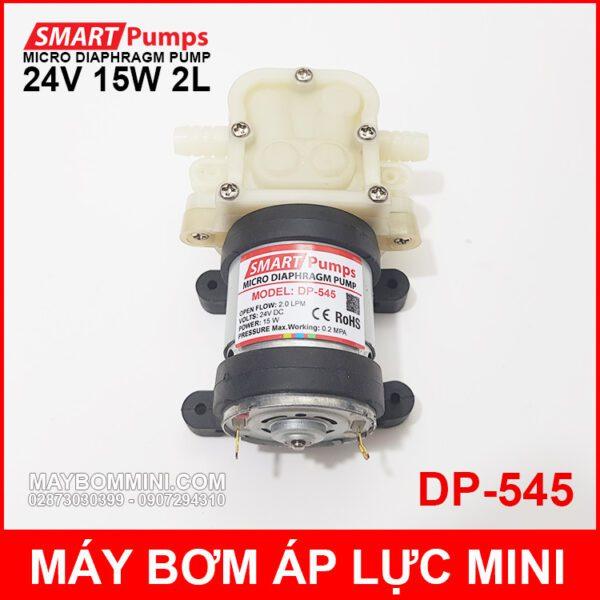 May Bom Ap Luc Mini 24V 15W 2L Smartpumps DP 545