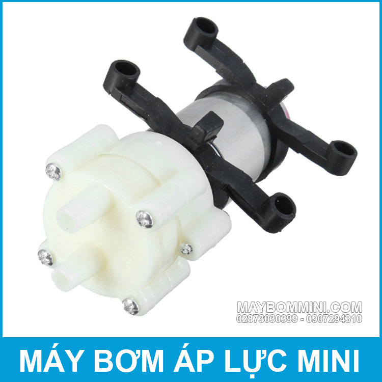 May Bom Phun Xit Nuoc Rua Tay Mini 12V
