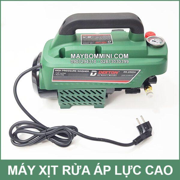 Bom Ap Luc Ve Sinh Dieu Hoa May Lanh Chuyen Nghiep 2500W