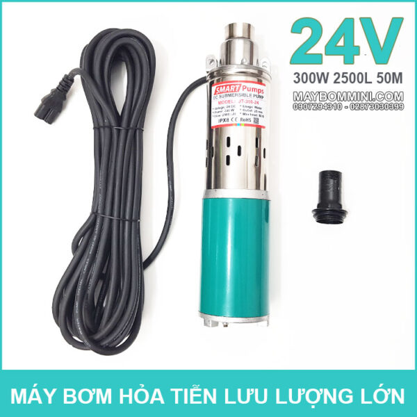 May Bom Chim 24V 300W 2500L JT 300 Smartpumps