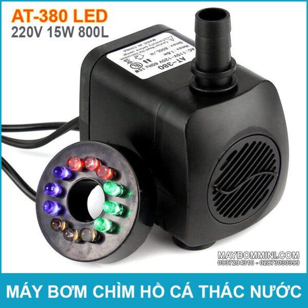 May Bom Chim Ho Ca Thac Nuoc AT 380 LED