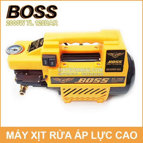 May Rua Xe Gia Dinh Boss 2000W